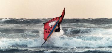 ウインド・サーフィンと映像